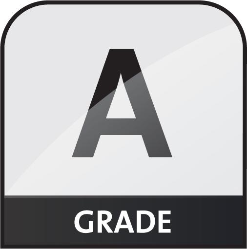 Grade A icon