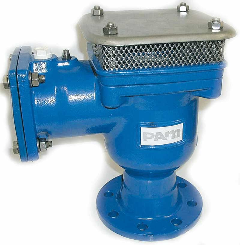 Air valve double orifice