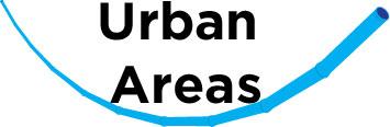 Direxional Urban Areas Icon