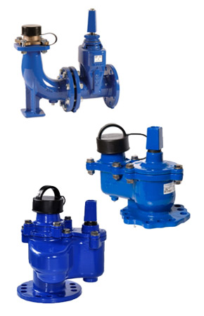 our range of hydrants