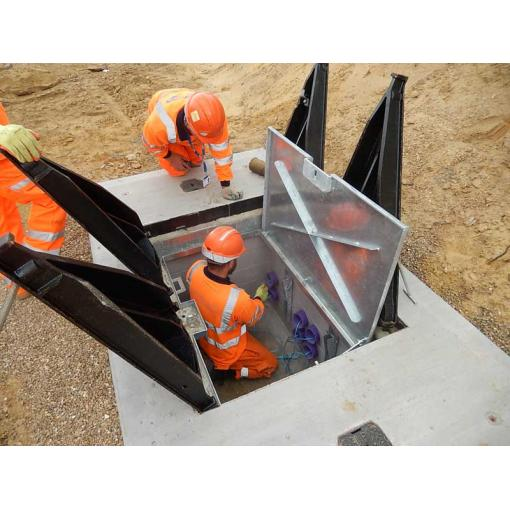Secure access solution for smart motorway project