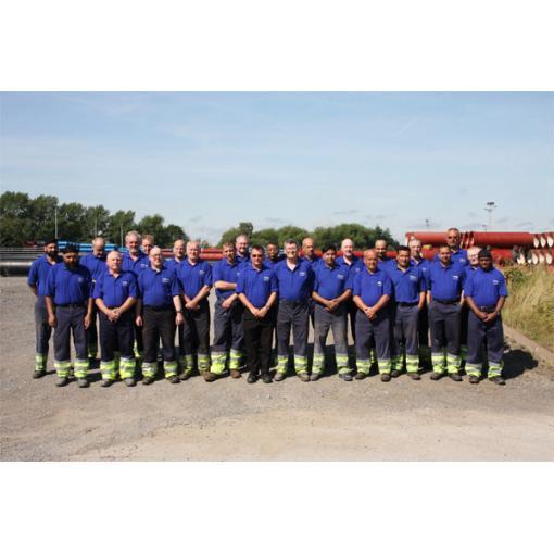 Ilkeston Stock Ground team in recognition of their award