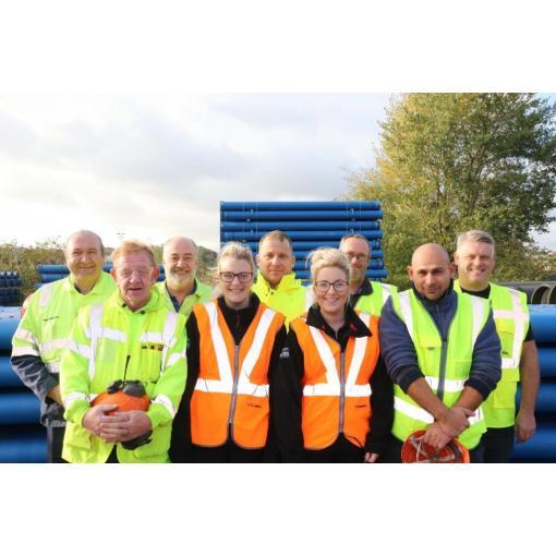 Saint-Gobain PAM UK Team - XPO Transition