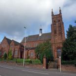 all saints church installation