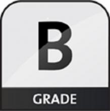 b grade icon