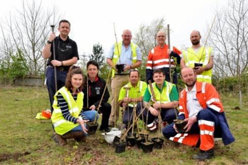 Telford tree planting