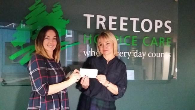 Treetops hospice donation